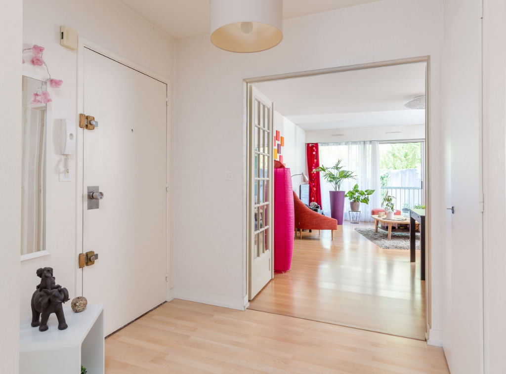 A VENDRE  NANTES/ CENTRE VILLE APPARTEMENT TYPE 3 BALCON /ASCENSEUR/2 PARKINGS 2/11