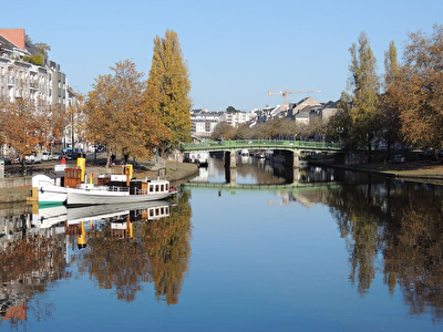 NANTES PONT ST MIHIEL A VENDRE APPARTEMENT T2  ASCENSEUR ET PARKING